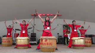 Canada 150 Chinese Drum Performance 20170701