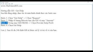 TheFutureBIT - Hướng dẫn GH - Get Help