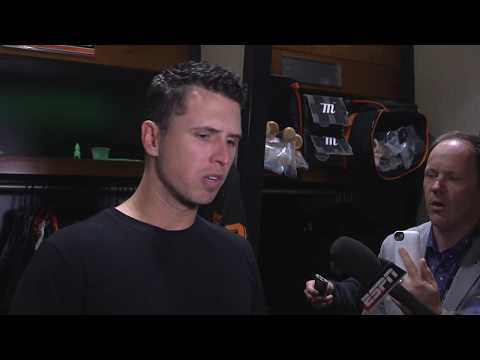 Posey shares why he didn't run after Bryce Harper
