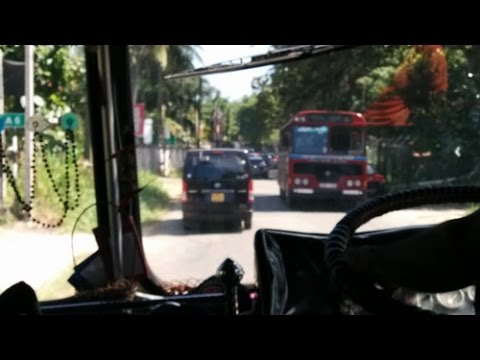 En bus au Sri Lanka