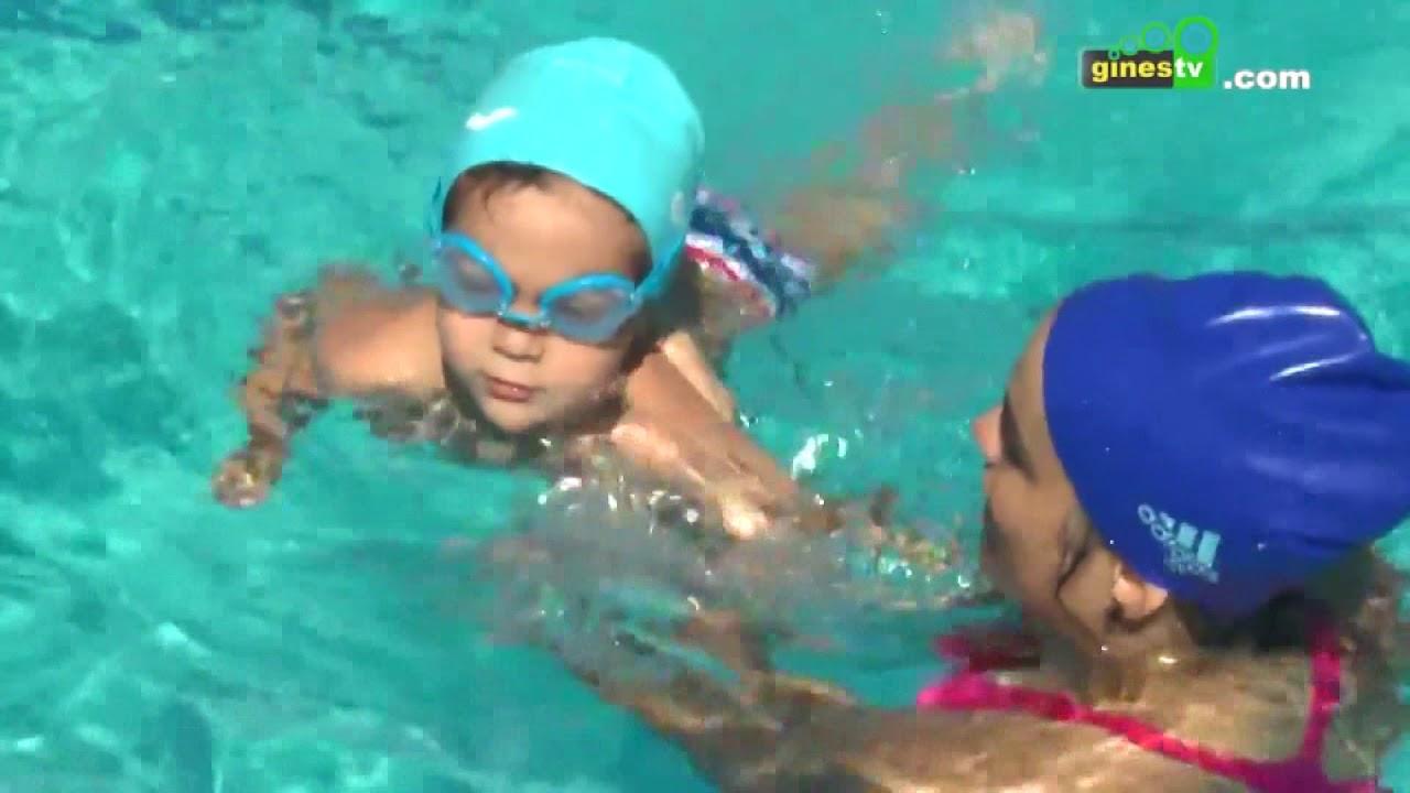 Abren las inscripciones para los cursos de natación del Ayuntamiento de Gines para el verano