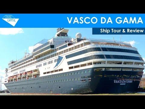 CMV Vasco da Gama Ship Tour & Review (Cruise & Maritime Voyages / Transocean)