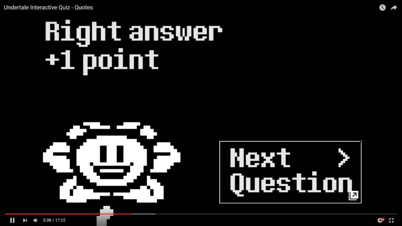 Quotes Quiz An Undertale Interactive Quiz Quotes  Youtube