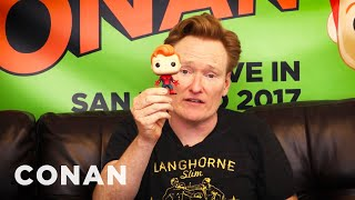 Watch #ConanCon For A Chance To Win Pop! Figures  - CONAN on TBS