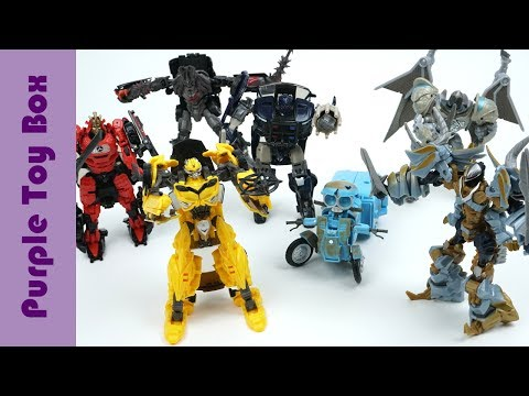 Thumbnail: Transformer 5 Deluxe Car Robot Toys - Purple Toy Box