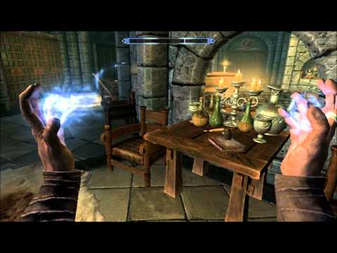 Skyrim: How to get the Master Illusion Spells