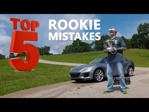 KEN HERON - Top 5 ROOKIE Drone Mistakes (And how to avoid them)