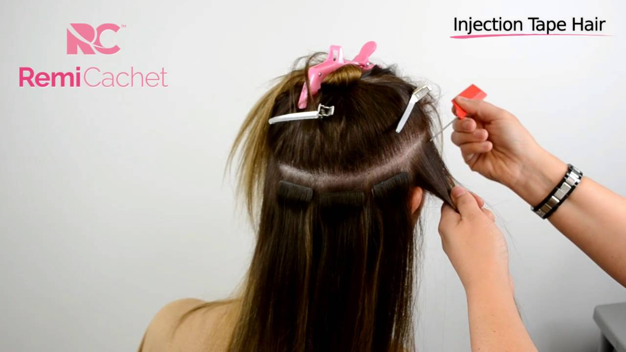 Remi Cachet Injection Tape Hair Extensions Youtube