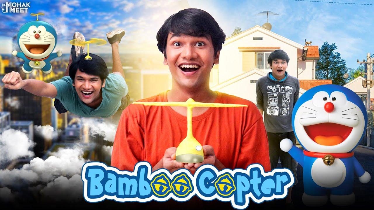 DORAEMON - BAMBOO COPTER : बॅम्बू कॉप्टर SHORT FILM | GADGET SCI-FI | #Funny #Bloopers || MOHAK MEET