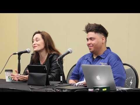 ConnectiCon 2017 Press Conference: Courtenay Taylor