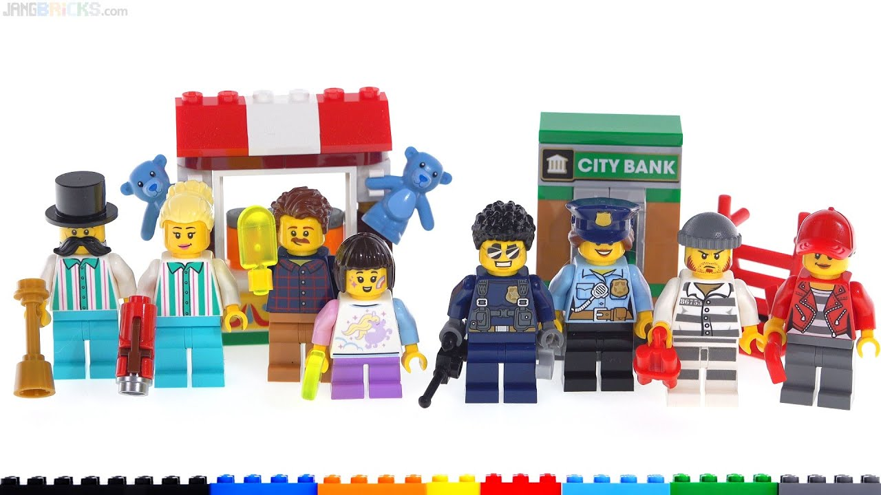 Minifigure set BNIB New /& Sealed LEGO CITY 40372 Police Duke Detain