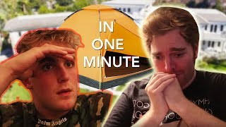 Shane Dawson Inside Jake Pauls Mind In Under 1 Minute (Documentary)