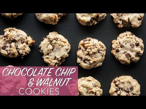 the best vegan cookies ever  chocolate chip  walnut