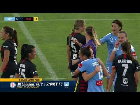 Westfield W-League 2019/20: SEMI FINAL - Melbourne City Women V WS Wanderers Women (Full Game)