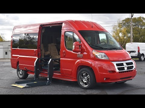[Wheelchair-Accessible] 2017 Ram ProMaster High-Top Conversion Van Walkthrough | CP15930T