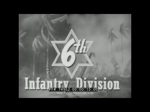 "THE 6th INFANTRY DIVISION in WORLD WAR II & KOREA ""SIGHT SEEIN' SIXTH""  74952"
