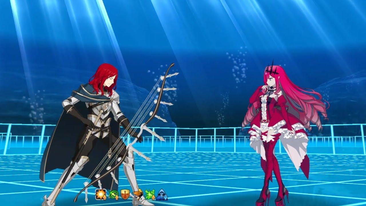 [FGO] Tristan VS Fairy Knight Tristan