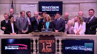 MoneyShow Invest Smarter, Trade Wiser Rings NYSE Closing Bell