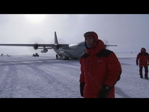 Norway PM at South Pole 100 years after it was conquered