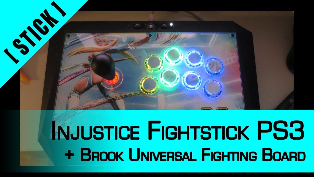 Arcade Stick Mod] Part 8: PDP Injustice Fightstick PS3 + Brook ...