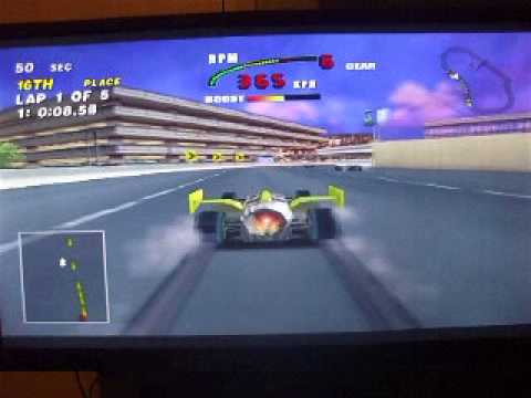 CART FURY - Future Car - Airport Raceway