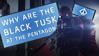 Why Are The Black Tusk At The Pentagon - Story/Lore | The Division 2