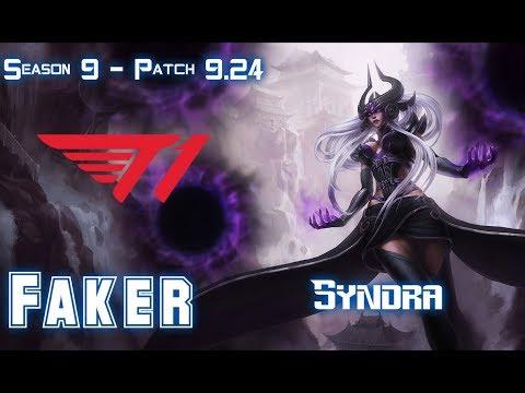 T1 Faker SYNDRA
