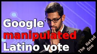 Google CEO gets grilled over election manipulation then almost CRIES for it to end