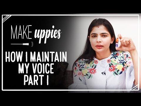 How I maintain my voice - Part 1 | Chinmayi Sripada
