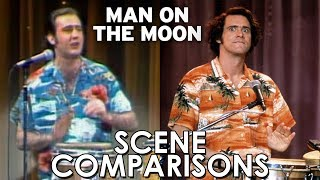 Andy Kaufman and Jim Carrey