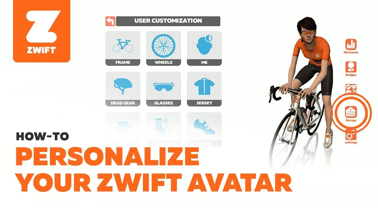 How To Personalize Your Zwift Avatar Cycling Official