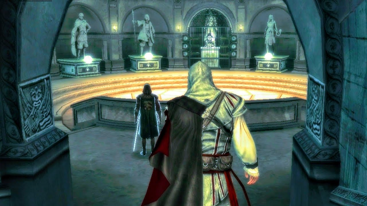 Repeat Uncle Shows Ezio Statues Of Amunet Darius Iltany Wei Yu