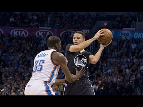 Stephen Curry, Kevin Durant Duel in Oklahoma City