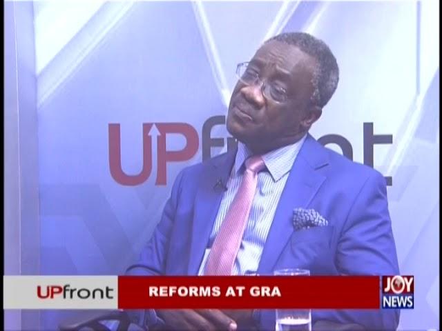 Reforms at GRA - UPfront on JoyNews (29-11-18)