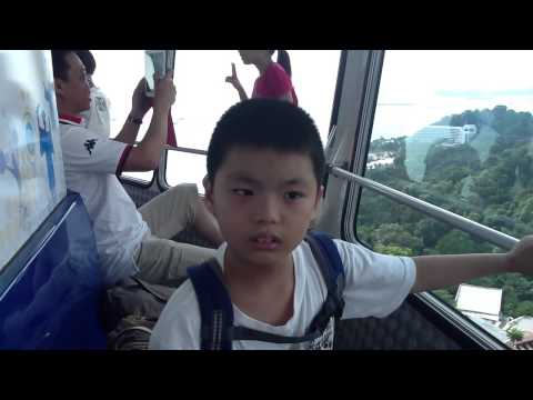 Tiger Sky Tower At Sentosa Filmed In 2012 Posted In 2014