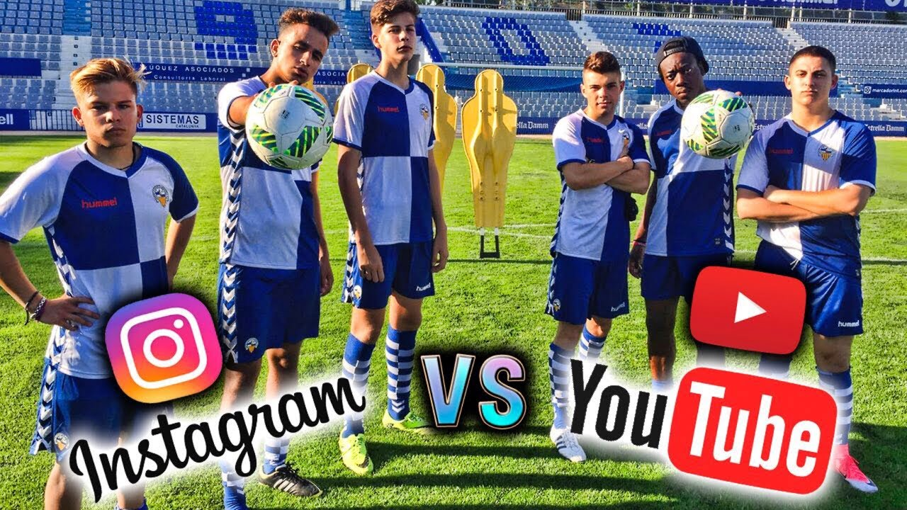 INSTAGRAMERS vs YOUTUBERS | FÚTBOL EXTREMO