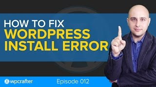 Wordpress Fix - An automated WordPress update has failed to complete