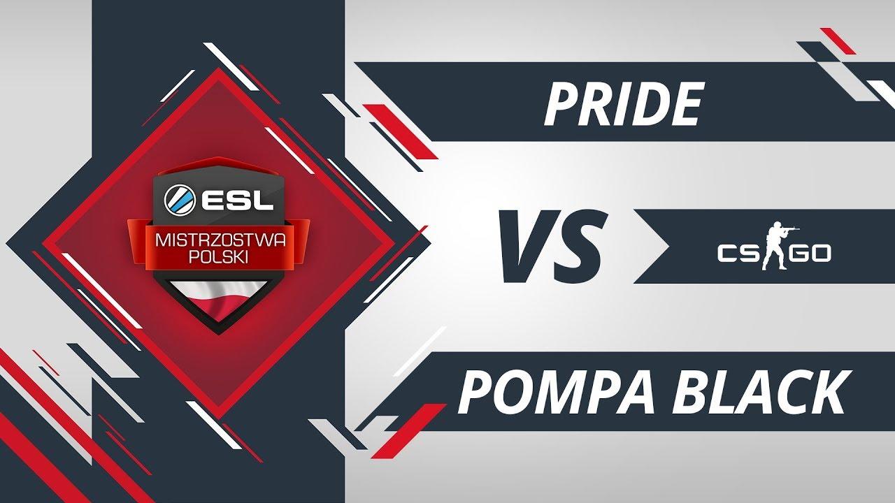 PRiDE vs PompaTeam.Black | EMP CS:GO Kolejka #4 Mapa #2
