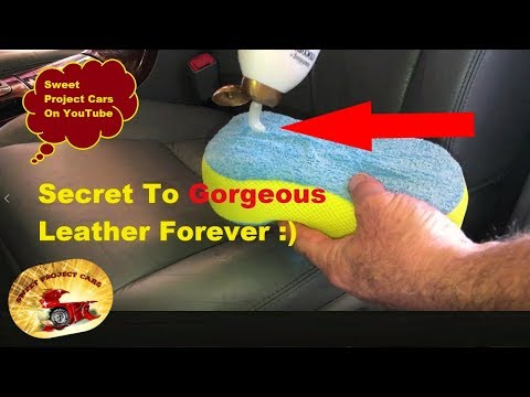 OUR SECRET!  Make Leather Last FOREVER! in Just Minutes