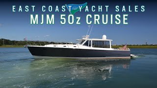 MJM Yachts 50z Afternoon Cruise With East Coast Yacht Sales