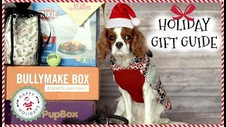12 GIFT IDEAS FOR DOGS | HOLIDAY GIFT GUIDE 2017 | Dog toys, dog treats, dog accessories!