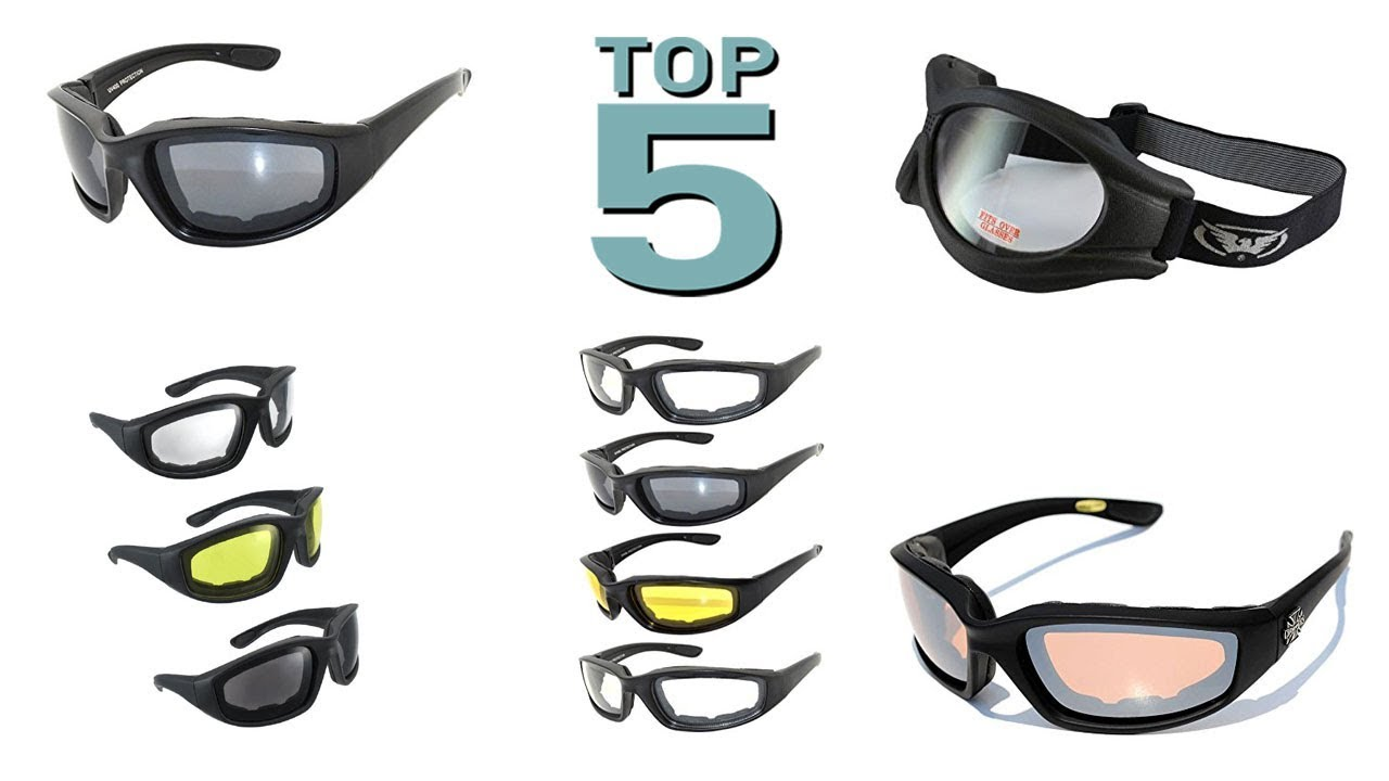 0f57c433daed Top 5 Best Motorcycle Glasses 2018 - Best Motorcycle Glass - YouTube