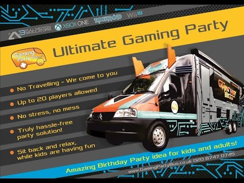 Gaming Party Bus Promo | Ultimate Gaming Party | Coolest Party Idea
