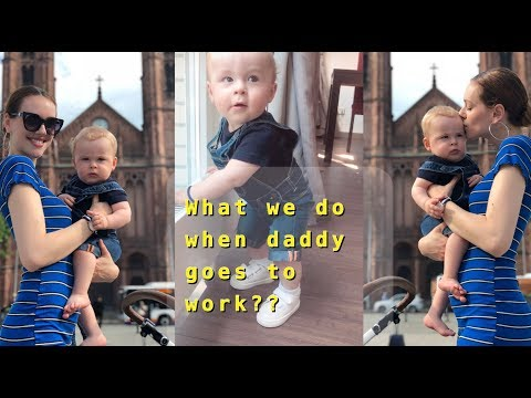 What We Do When Daddy Goes To Work?? DAY IN A LIFE VLOG