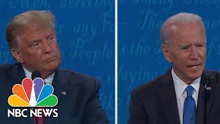 Rhetoric Versus Reality: Where Trump And Biden Stand On Climate Change | NBC News NOW