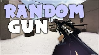 The RANDOM GUN Challenge (Phantom Forces)