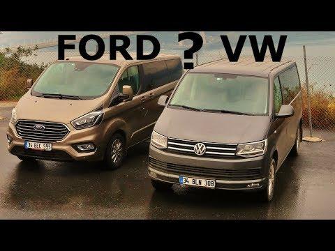VW Caravelle Vs Ford Tourneo Custom - Hangisi?