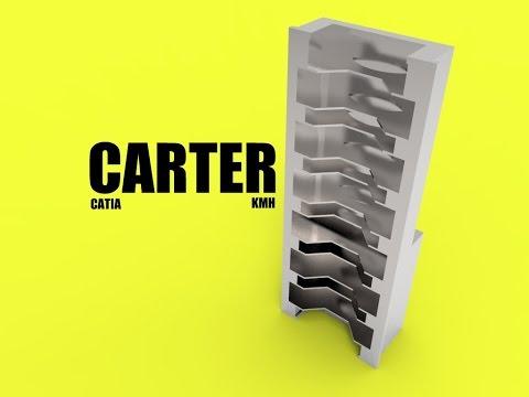CATIA free basic online training  how to design a carter  car engine  step 16