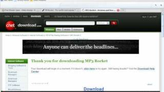 Mp3 rocket download For dummies part Uno!