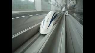 リニアモーターカー有人試乗時速590kmで走行に中国が,かじりついた!! thumbnail